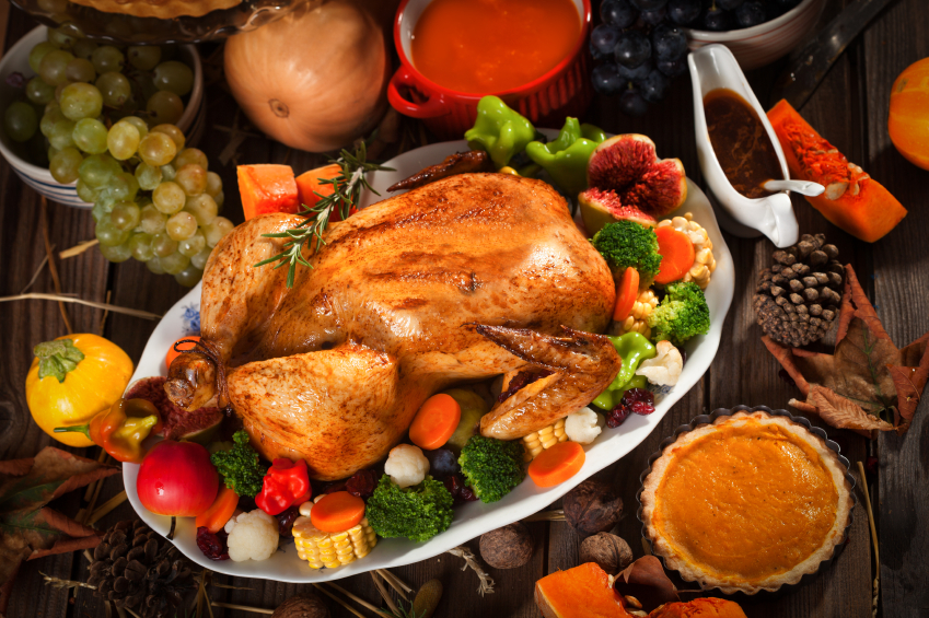 Thyme Restaurant Thanksgiving Menu