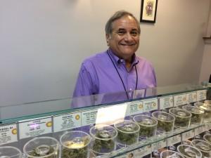 Figure 2: Rabbi Jeffrey Kahn, owner of Takoma Wellness Center medical marijuana dispensary in D.C.