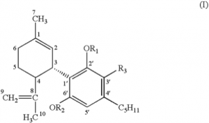 Figure 6 From the U.S. Patent US6630507 B1 on cannabinoids as antioxidants and neuroprotectants