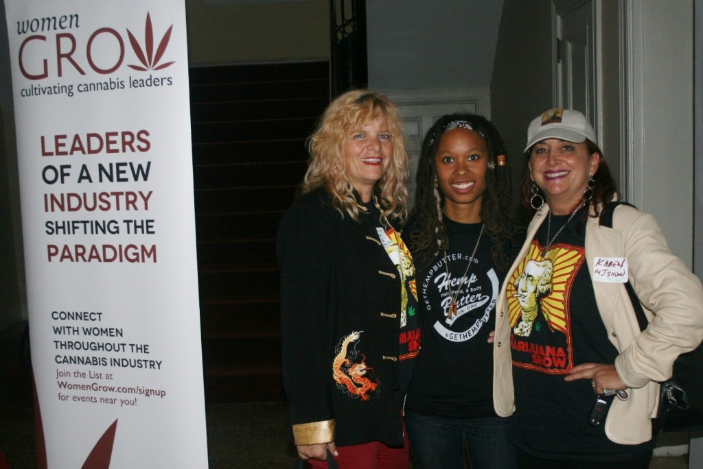 Season one finalist, Kyla Hill, is joined by her Marijuana Show mentors at the one-year anniversary of DC's Women Grow chapter