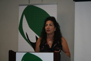 NY Sen.Diane Savino at the CHA Meeting in NYC. Photo Credit: Chloe Sommers