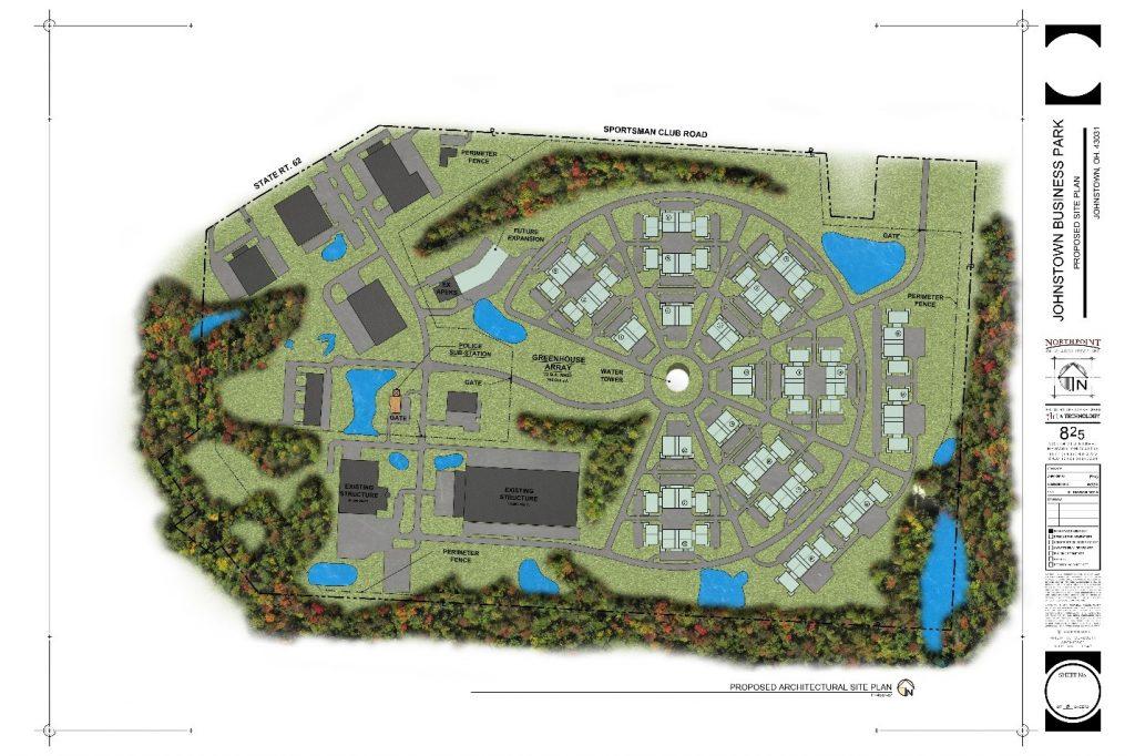 Medical Marijuana Industrial Park Proposal Courtesy: Andy Joseph