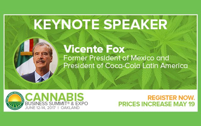 president-vicente-fox-to-keynote-the-country's-most-influential-cannabis-trade-show