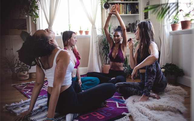 photo of Cannabis and Yoga: A Match Made in LA Heaven image