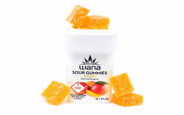 Wana Mango Sour Gummies