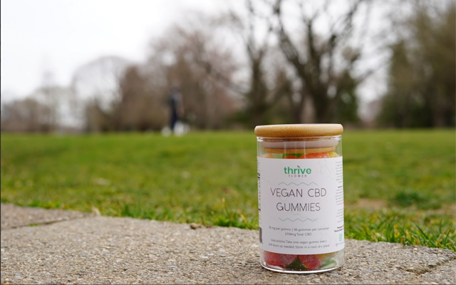 thrive flower CBD gummies vegan